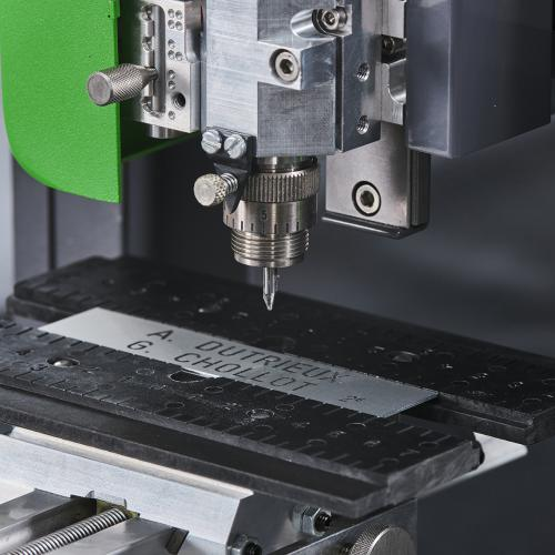 Gravotech rotary engraving machine